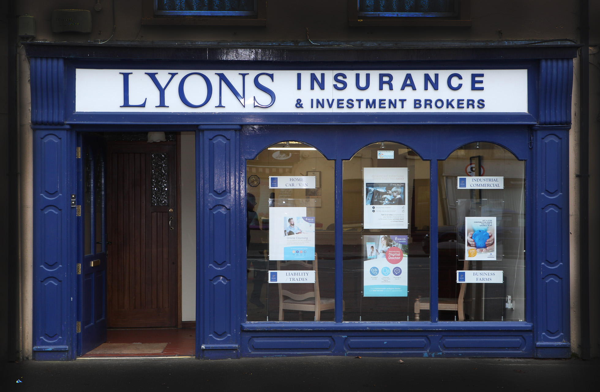 Lyons C'island front
